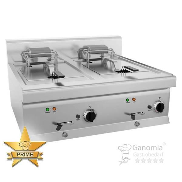Elektro Doppelfriteuse 20 Liter Tischgerät