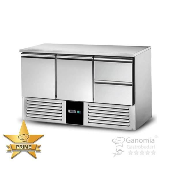 Kühltisch 2 Türen 2 Schubladen Höhenverstellbar