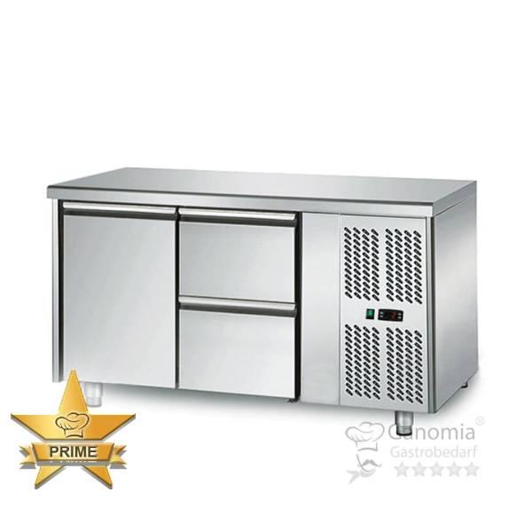 Kühltisch 1 Tür 2 Schubladen Höhenverstellbar