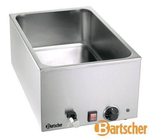 Bain Marie Gastro Tischgerät mit Wasserablasshahn