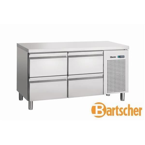 Bartscher Kühltisch Umluft 4 Schubladen Edelstahl