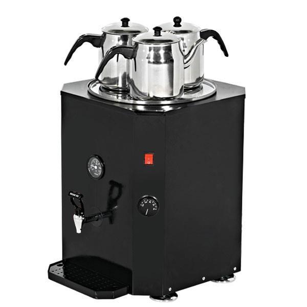 Teekocher Schwarz 37 Liter