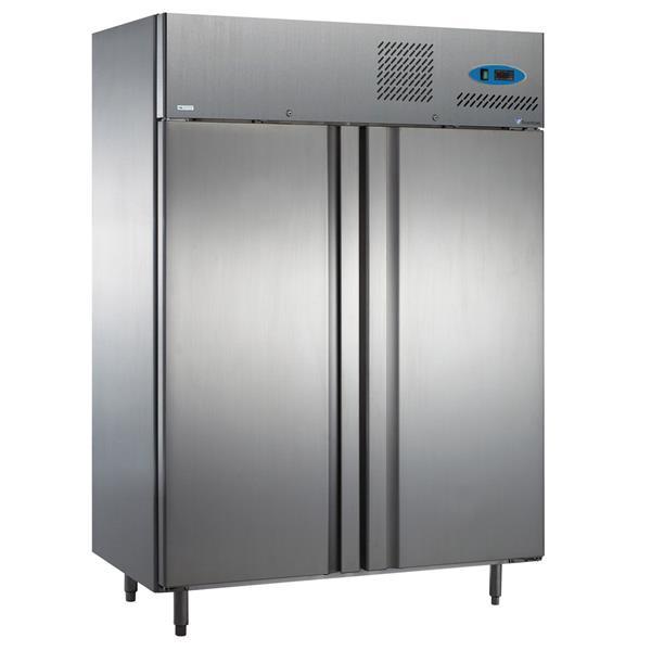Edelstahl Kühlschrank mit 2 Türen 1275 Liter