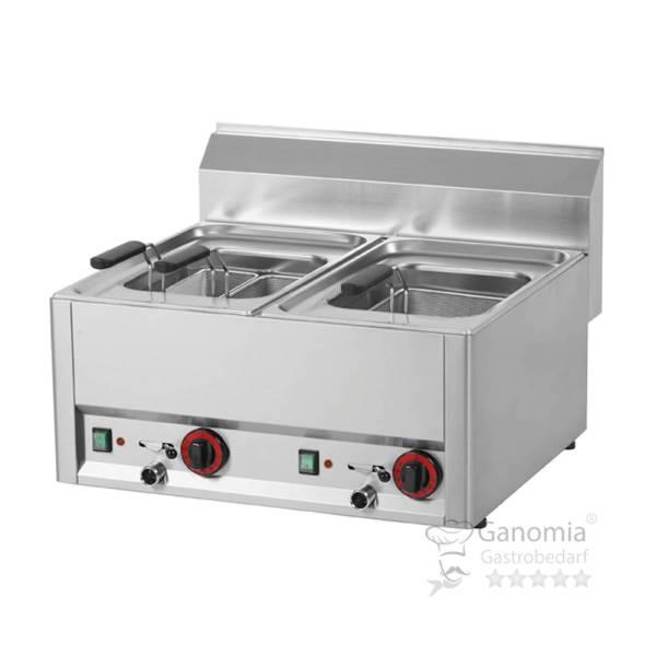 Nudelkocher Elektro 2 x 6,5 - 8 Liter